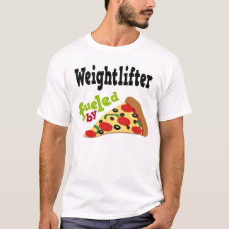 Weightlifter (Funny) Pizza T Shirt