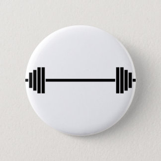 Weightlifting Barbell 2 Inch Round Button