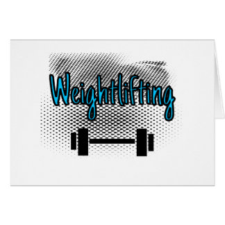 Weightlifting Card