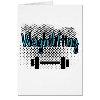 Weightlifting Card