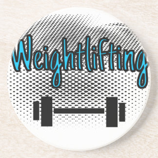 Weightlifting Coaster