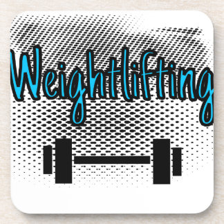 Weightlifting Coaster