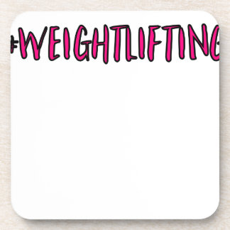 Weightlifting Design Coaster