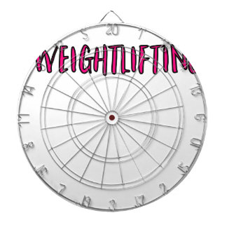 Weightlifting Design Dartboard