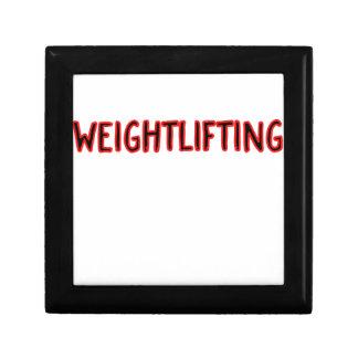 Weightlifting Design Gift Box