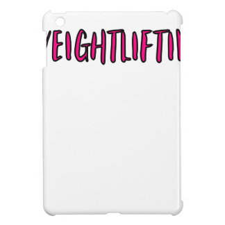 Weightlifting Design iPad Mini Cases