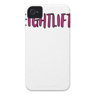 Weightlifting Design iPhone 4 Case-Mate Cases