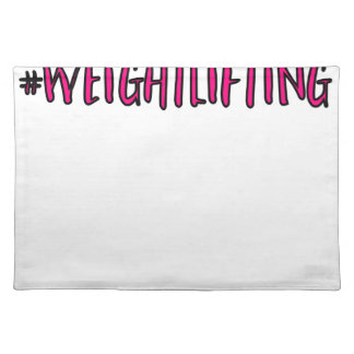 Weightlifting Design Placemat