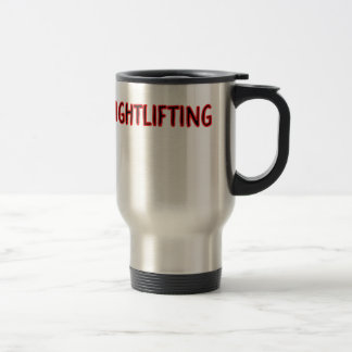 Weightlifting Design Travel Mug