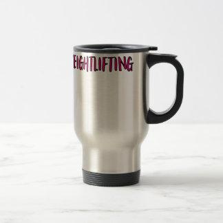 Weightlifting Design Travel Mug