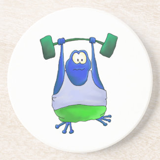 Weightlifting Frog Coaster