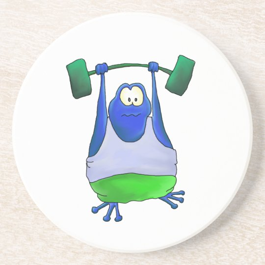 Weightlifting Frog Coaster