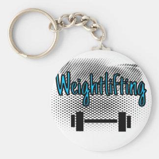 Weightlifting Keychain