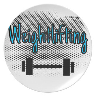 Weightlifting Plate