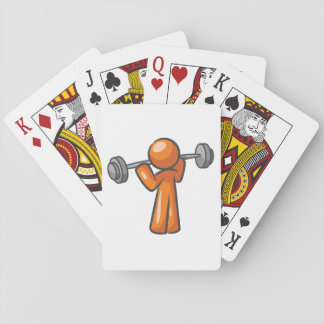 Weightlifting  Playing Cards