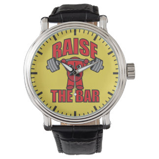 Weightlifting - Raise The Bar - Kawaii Motivation Watches