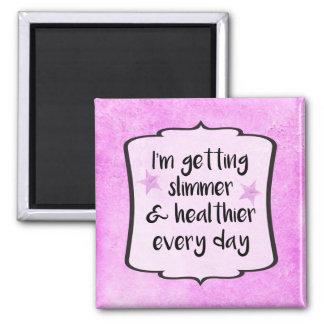 Weightloss Diet Success Motivation Award Magnet