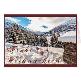 Weihnachstkarte Card