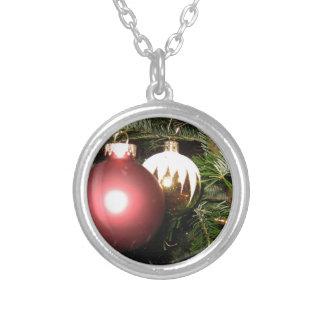 Weihnachtsschmuck Silver Plated Necklace