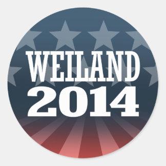WEILAND 2014 STICKERS