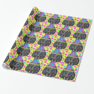 Weim Party Dog Wrapping Paper