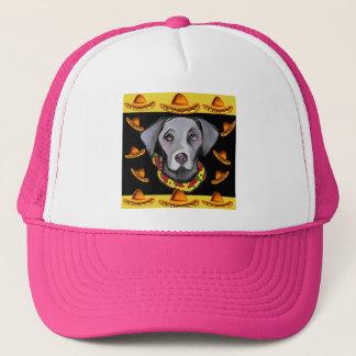 Weimarana Cinco de Mayo Trucker Hat