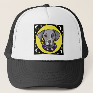 Weimarana Halloween Trucker Hat