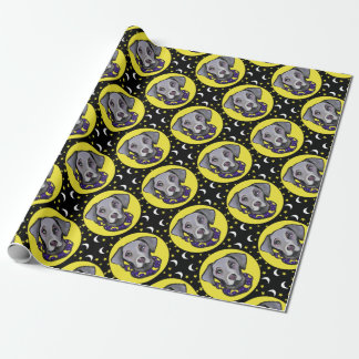 Weimarana Halloween Wrapping Paper