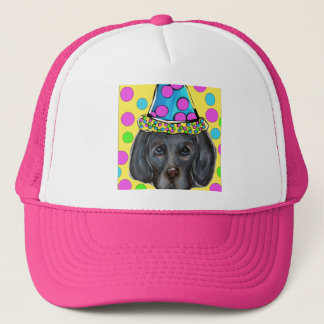 Weimarana Party Dog Trucker Hat