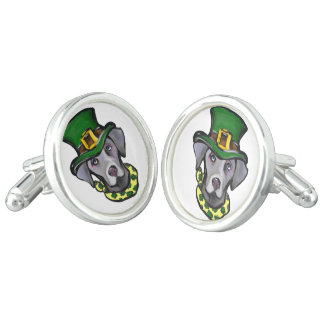 Weimarana ST Patty Cufflinks
