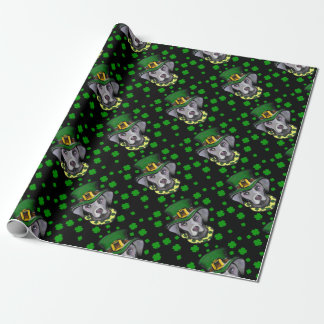 Weimarana ST Patty Wrapping Paper