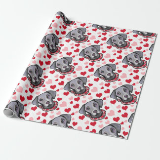WEIMARANA WRAPPING PAPER