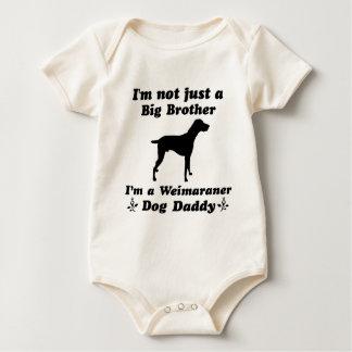 weimaraner baby bodysuit