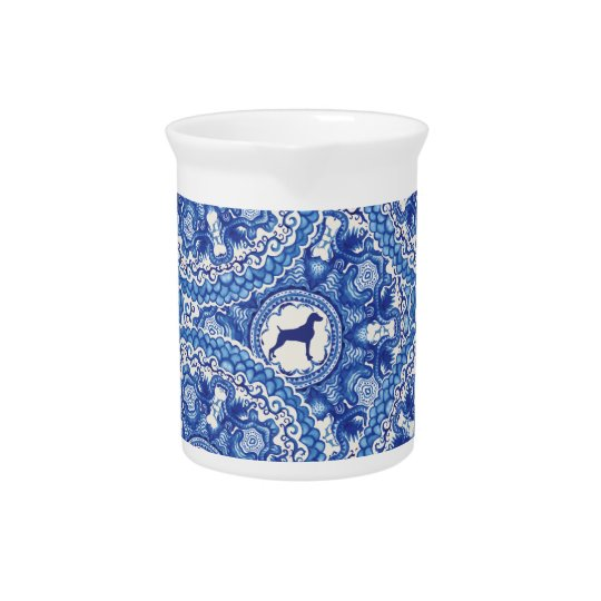 Weimaraner Blu China Design PITCHER