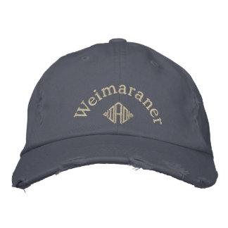 Weimaraner Dad Gifts Embroidered Hat