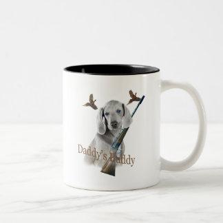 Weimaraner Daddy's Hunting Buddy Coffee Mug