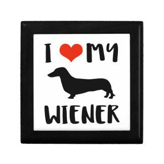 Weimaraner design gift box