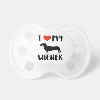 Weimaraner design pacifier