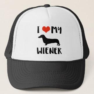 Weimaraner design trucker hat