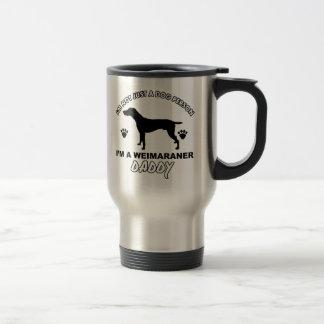 WEIMARANER dog daddy designs Travel Mug