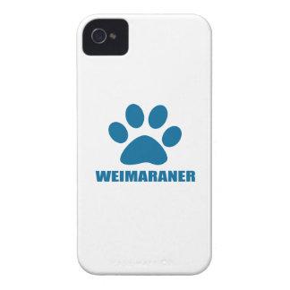 WEIMARANER DOG DESIGNS iPhone 4 CASE
