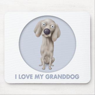 Weimaraner Granddog Mouse Pad