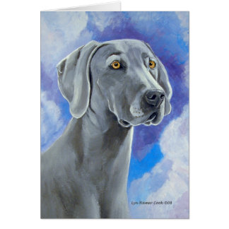 Weimaraner Greeting Cards