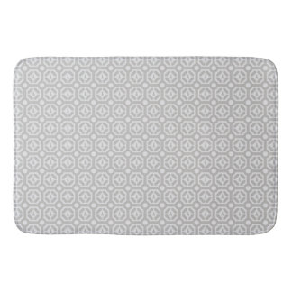 WEIMARANER HEXAGON TAUPE LARGE BATH MAT