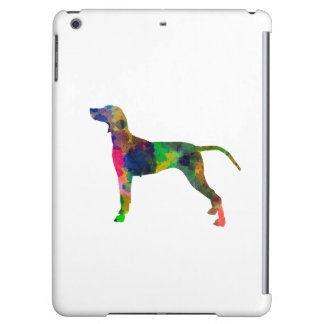 Weimaraner in watercolor cover for iPad air