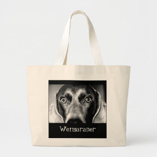 Weimaraner Large Tote Bag