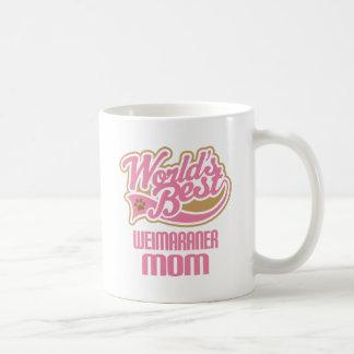 Weimaraner Mom Dog Breed Gift Coffee Mug