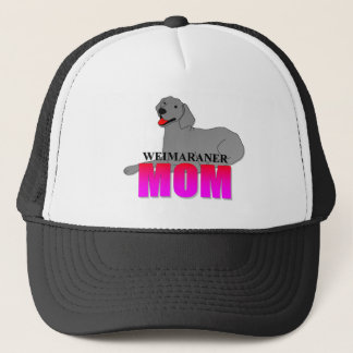 Weimaraner Mom Trucker Hat