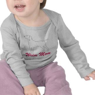 Weimaraner Mom Tee Shirts