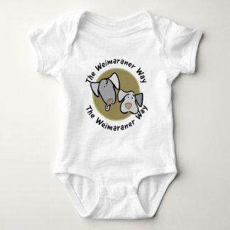 Weimaraner Nation : The Weimaraner Way Baby Bodysuit